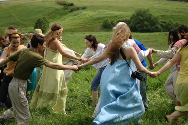 Словацкие народные танцы - хоровод