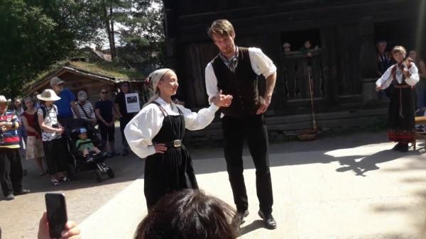 Норвежский народный танец