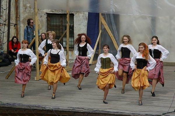 Кейли - танцы по-ирландски