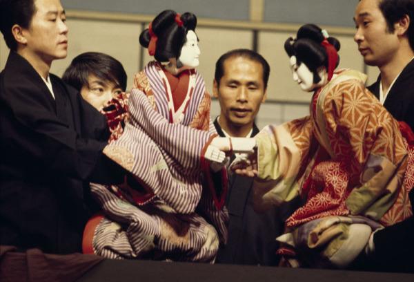 Японский кукольный театр бунраку