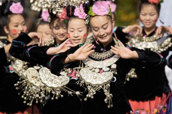 Танцы народности мяо