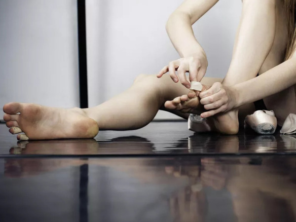 Волдыри у танцоров