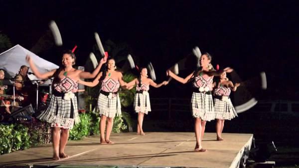 Маорийский танец пои