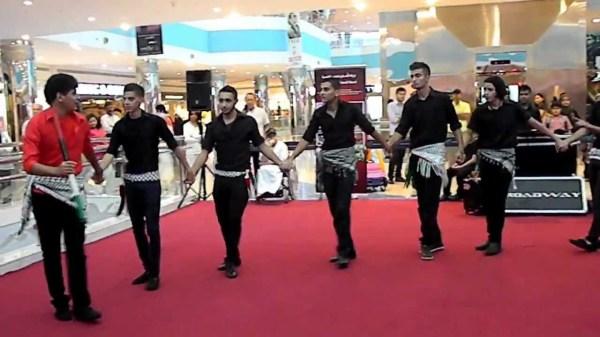 Дабке - традиционный танец арабов