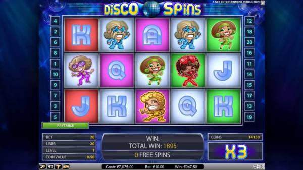 Игровой автомат Disco Spins: для поклонников танцев и любителей азарта