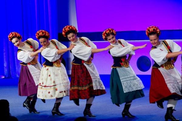 Польские народные танцы