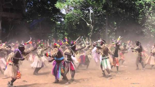 Дикий танец Вануату - Тока