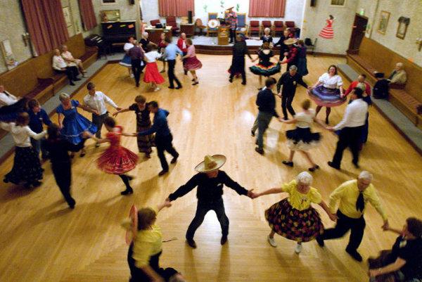 Сквэр-танцы в Чехии и Словакии