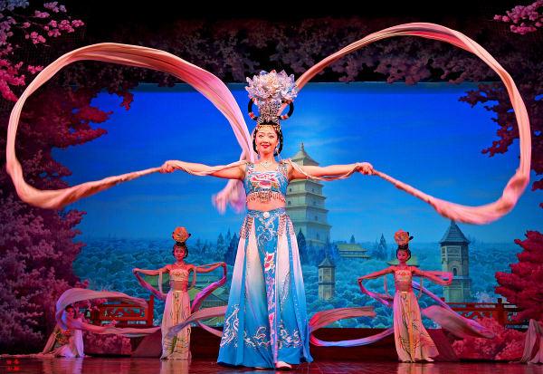 Танцы династии Тан