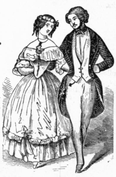 Танцы девятнадцатого века