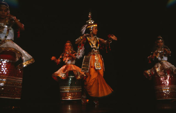Раслила - танец штата Манипур