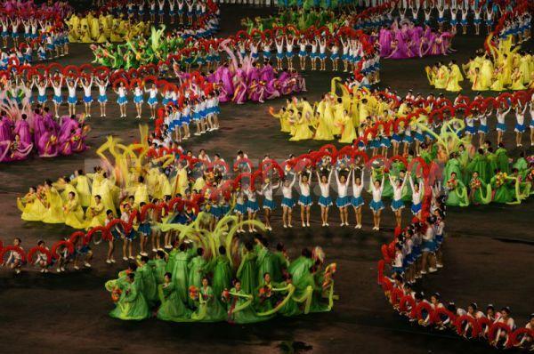 Северокорейские танцы