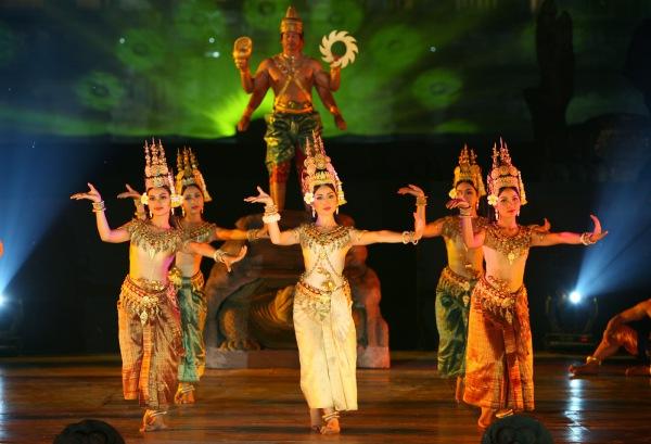Танцы во время Ангкора