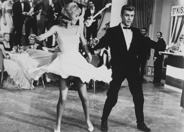 Танцы 1960-х - твист