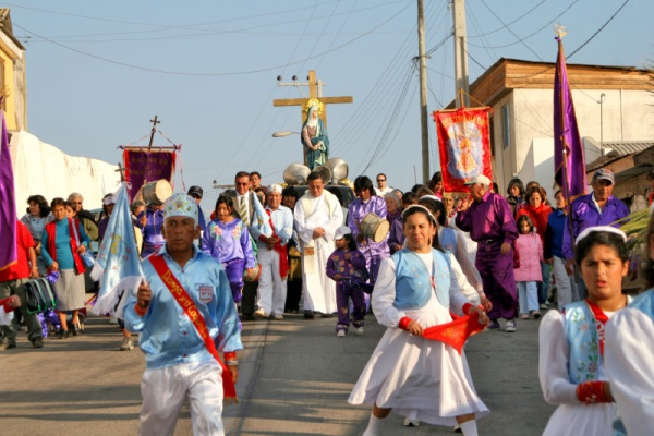 Чилийский танец bailes chinos