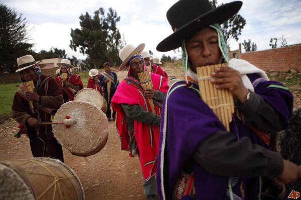 Традиционные танцы Анд