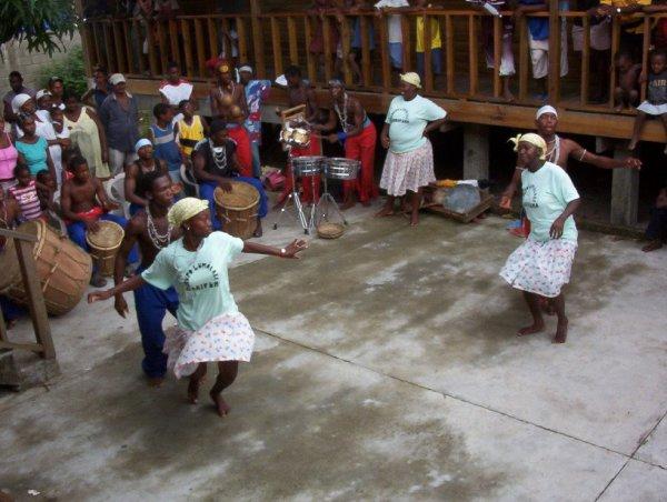 Пунта - танец Карибов