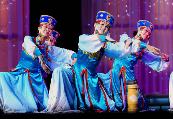 Монгольские танцы