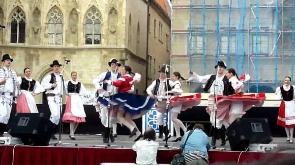 Народные танцы Словакии