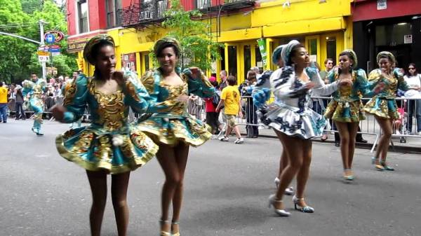 Зажигательный танец южноамериканских гор - капоралес