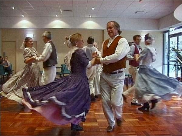 Австралийские танцы буш