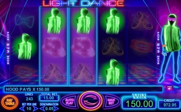 Игровой автомат Light Dance.