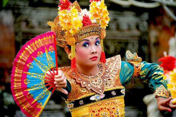 Танцы острова Бали