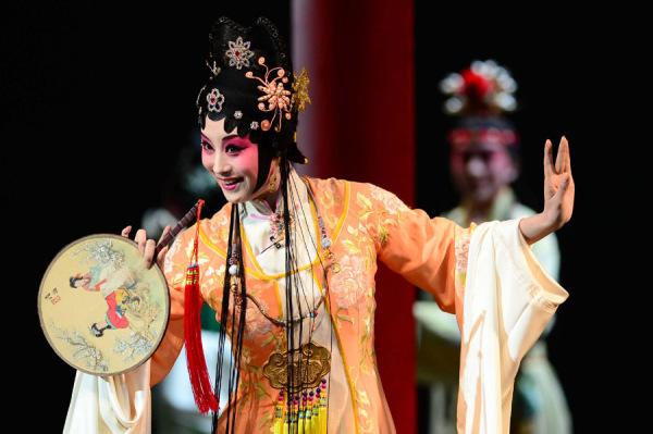 Китайская опера кунку