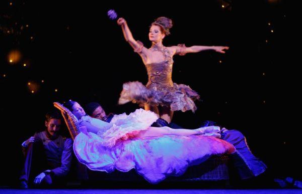 Генеральная репетиция «Спящей красавицы» в Королевском театре 5 декабря 2008 года в Глазго, Шотландия.
