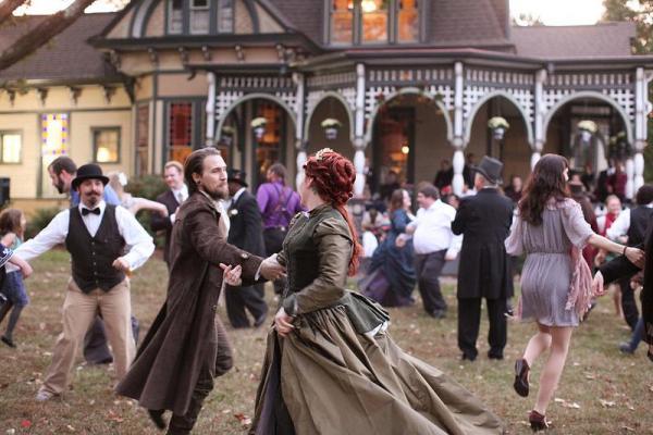 Танцы викторианской эпохи