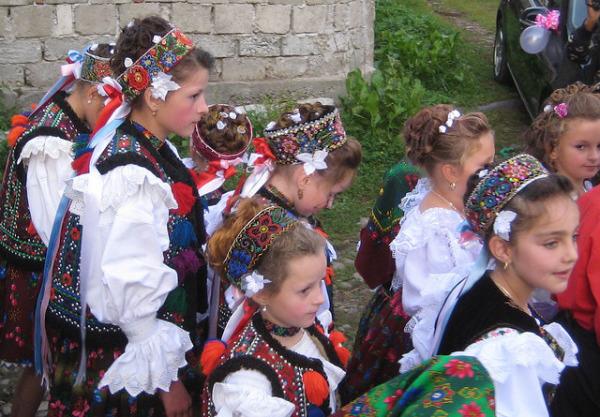 Традиционный молдавский танец