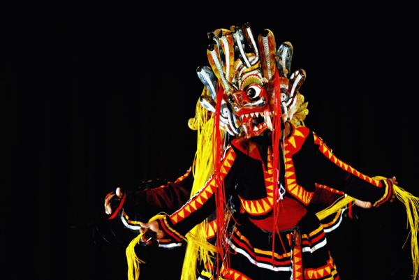 Целительные танцы с демонами на Шри-Ланке