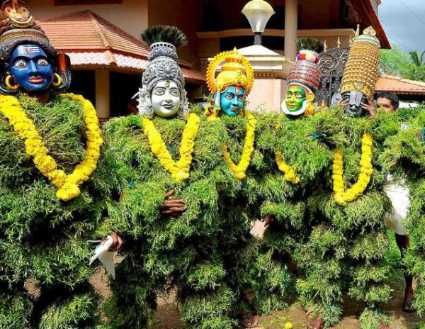 Ритуальный танец Кералы - куммати