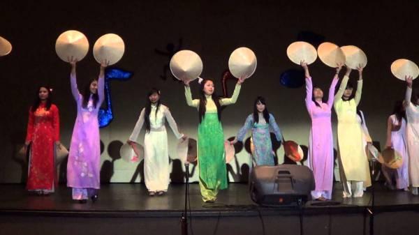 Традиционные танцы Вьетнама