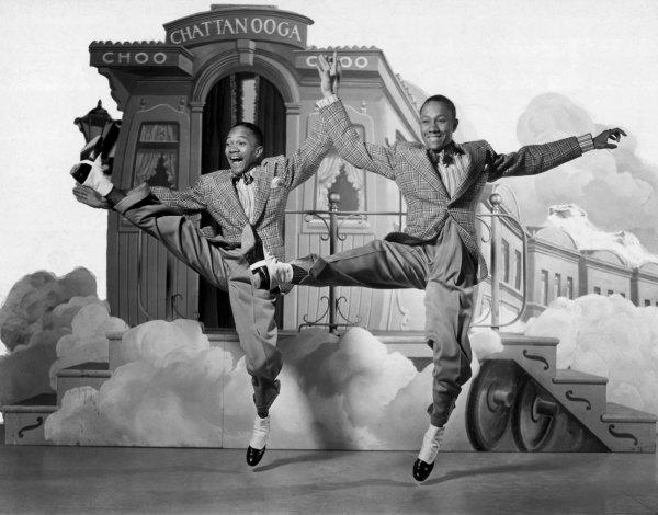 Дуэт танцоров Nicholas Brothers