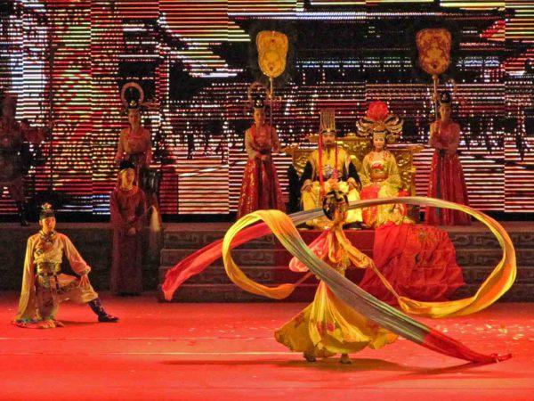 Китайские придворные танцы династии Тан