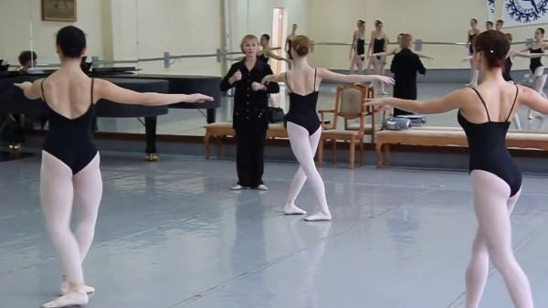 Тренировки танцоров