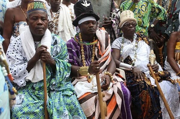 Традиционные танцы в Бенине