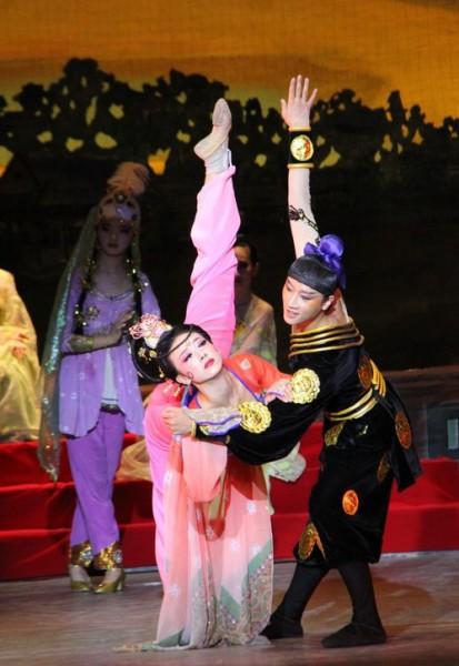 Современные китайские танцы