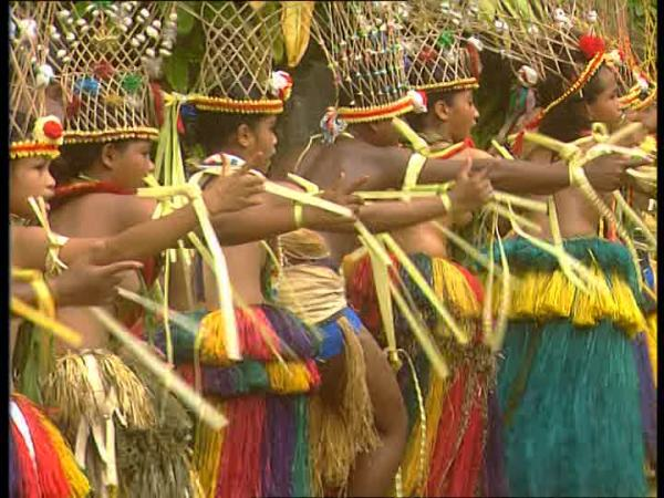 Танцы Микронезии