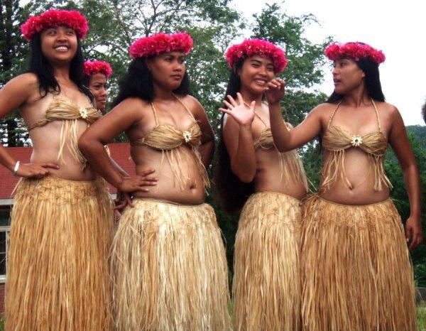 Микронезийские танцы