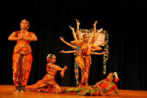 Индийские танцы - мастерство абхиная