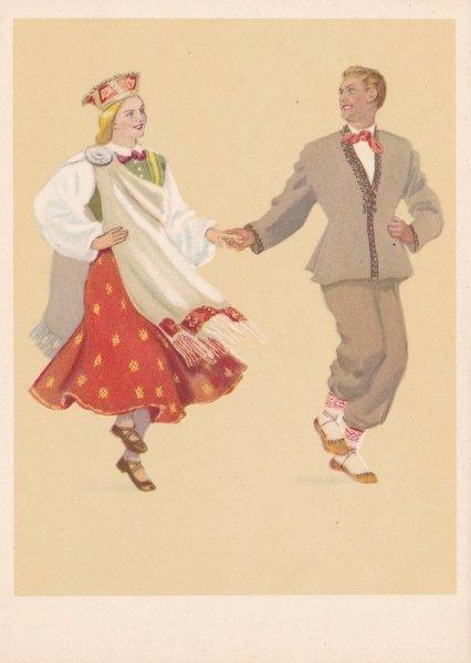 Народные танцы Латвии