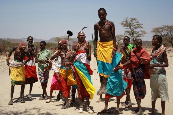 Племенные танцы