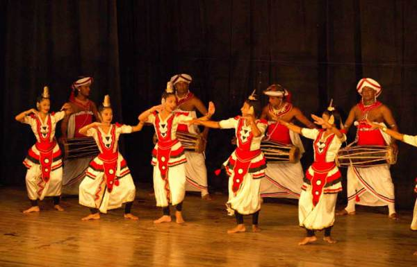 Традиционные танцы Шри-Ланки