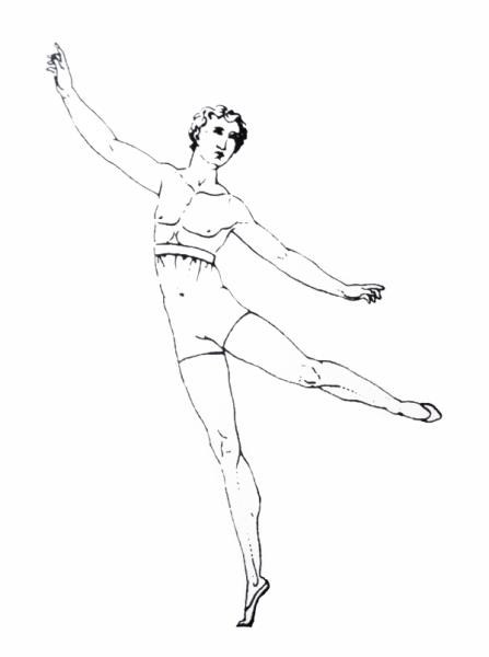 Зарисовки Карло Блазиса для обучения танцоров