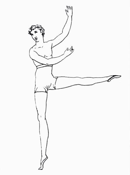 Зарисовки Карло Блазиса в руководстве к танцу
