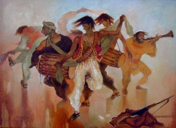 Национальный танец Афганистана - аттан