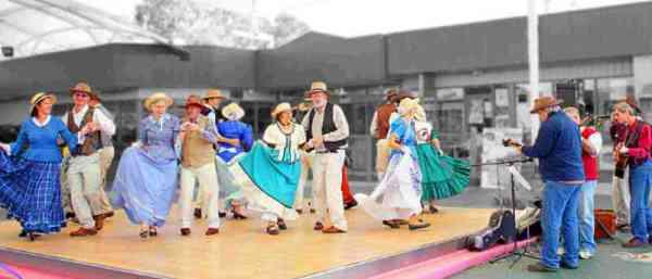 Танец буш в Австралии