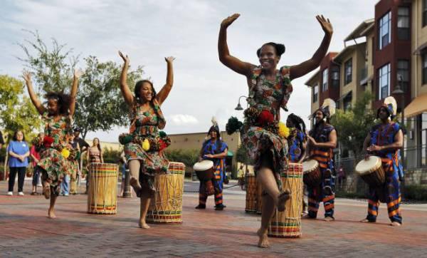 Ритм африканских танцев
